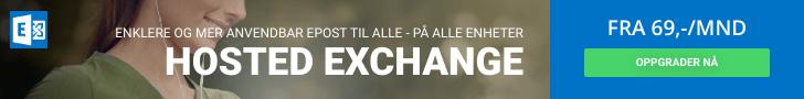 Hosted Exchange - Enklere og mer anvendbar epost